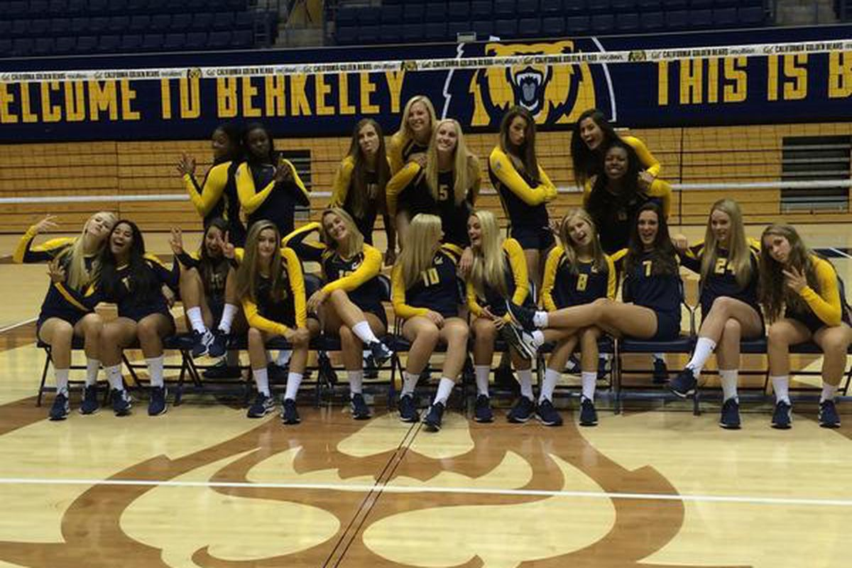 Unlike certain team in the South Bay, the Golden Bears know how to have fun on the court (seriously, check the tape from last year, Furd volleyball does not know how to smile).