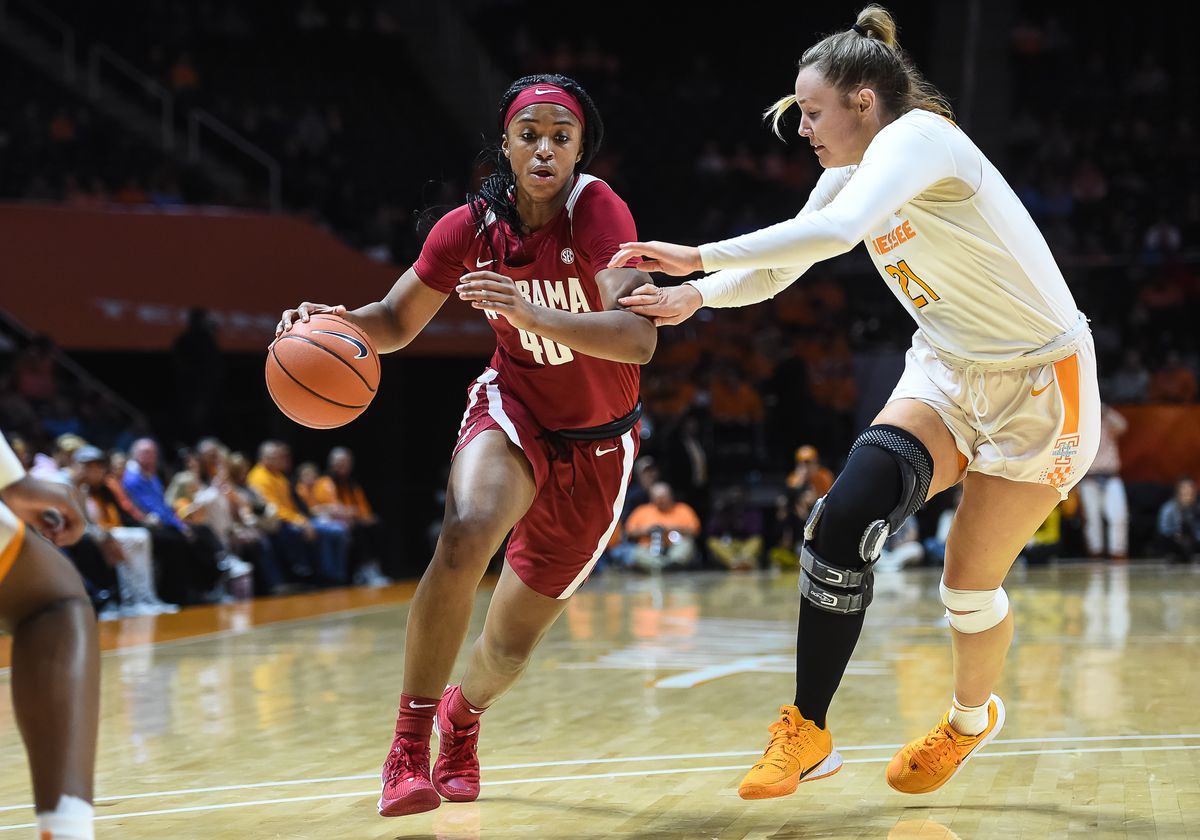 COLLEGE BASKETBALL: JAN 20 Women's Alabama at Tennessee