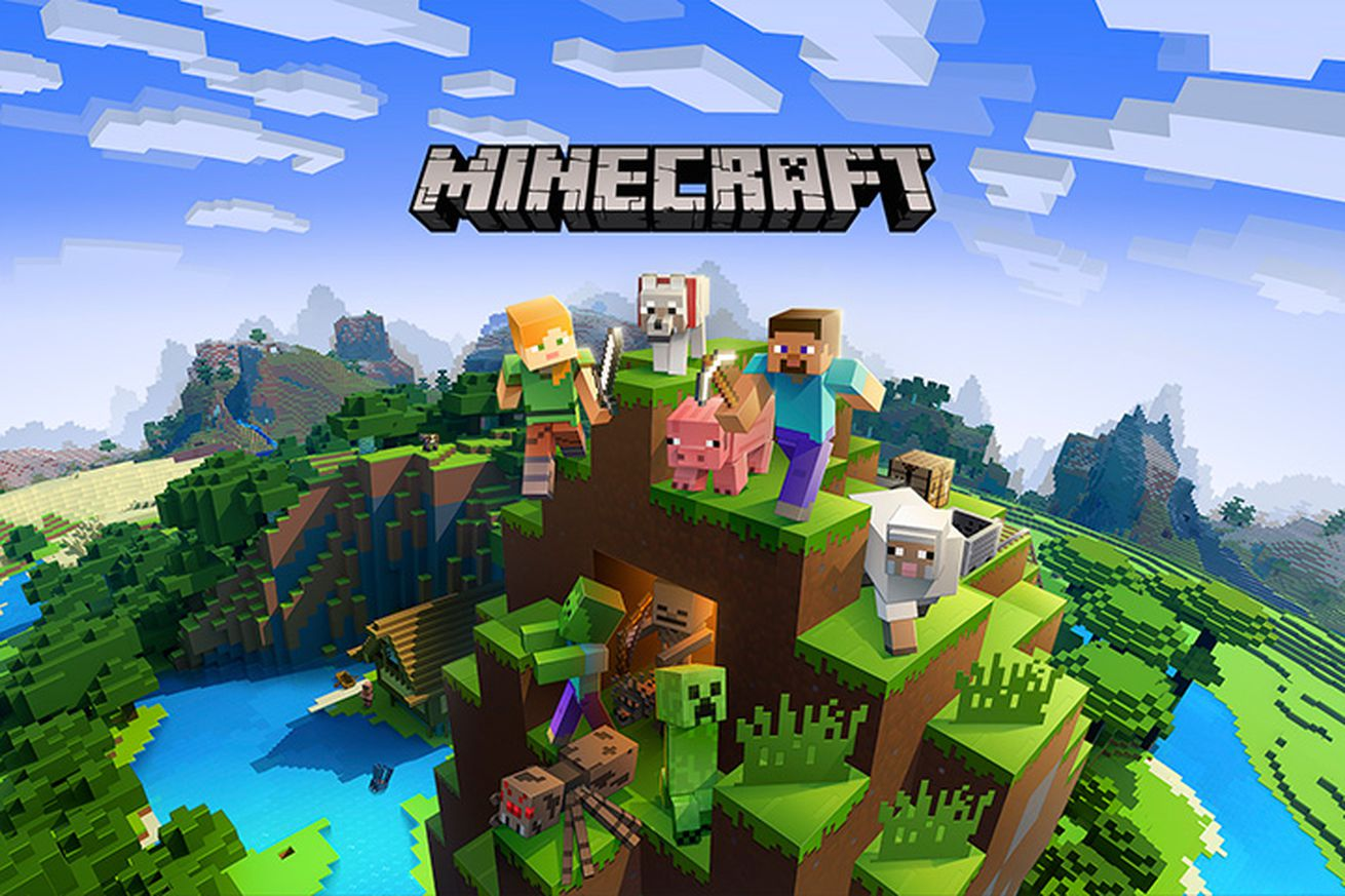 minecraft for the switch is getting cross play with pc xbox one and smartphones on june 21st
