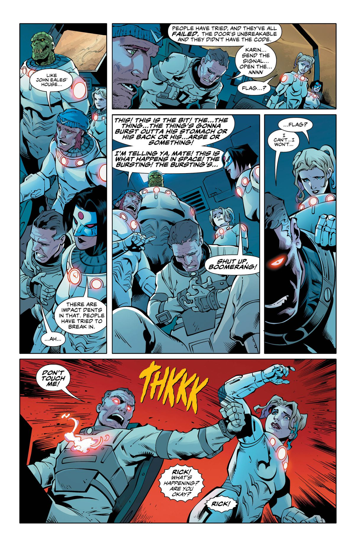 A page from Suicide Squad #29 (2017), DC Comics
