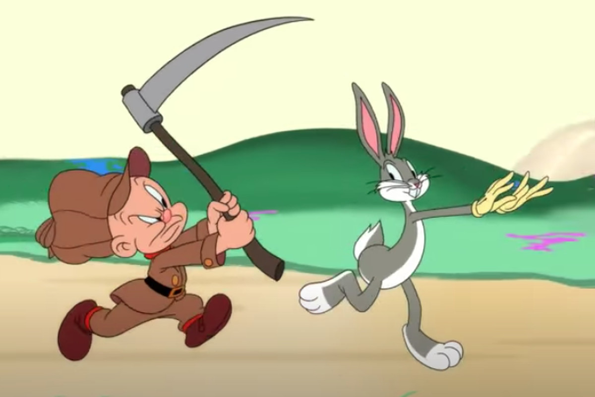 """Elmer Fudd will no longer carry a gun in the HBO Max reboot of Looney Toons' """"Bugs Bunny"""" cartoons."""