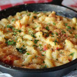 """Crawfish Mac & Cheese from Sugar Freak by <a href=""""http://www.flickr.com/photos/bradleyhawks/7764869170/in/pool-29939462@N00/"""">Amuse * Bouche</a>"""