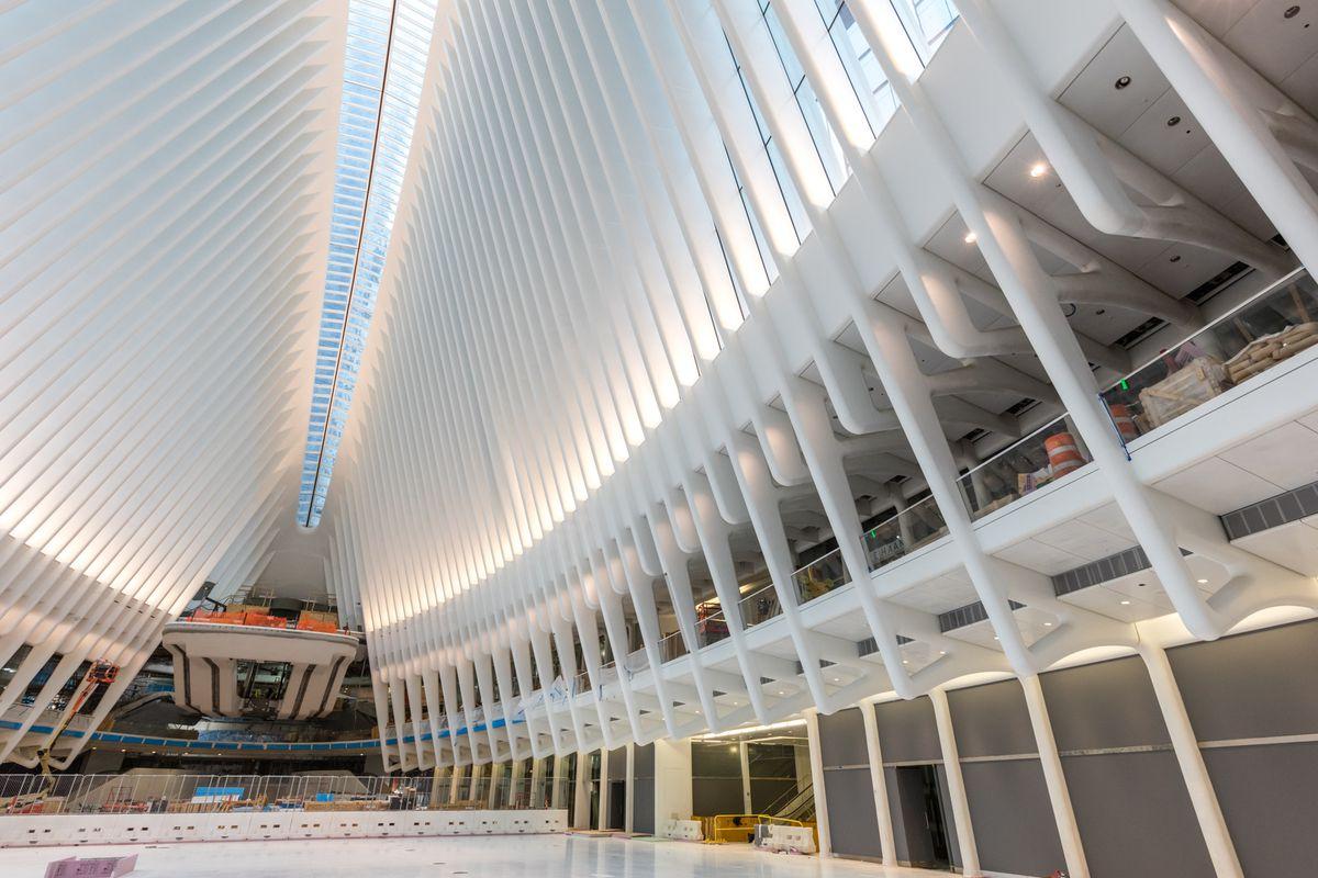 WTC Transportation Hub Inside