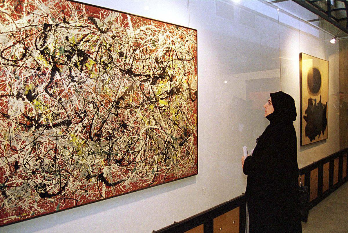 Pollock On Show In Tehran
