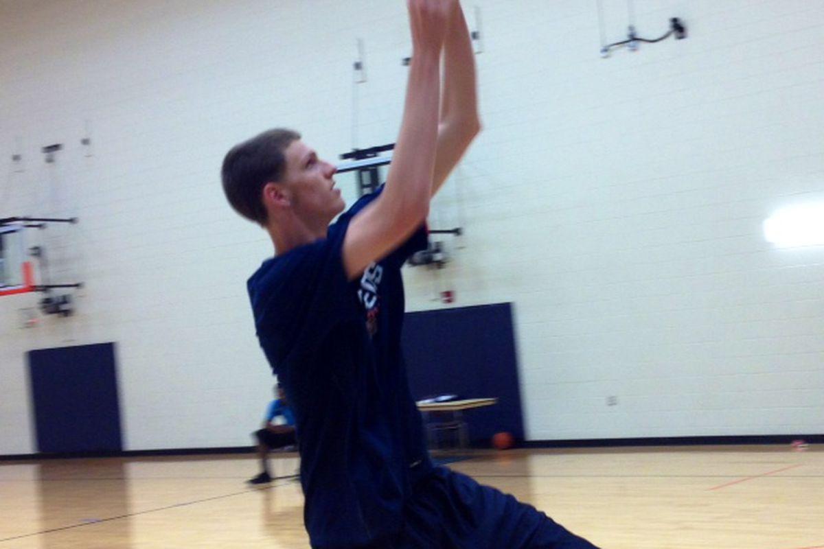 Matt Willms at the Foster-Stevens Basketball Complex - 6/28/2012