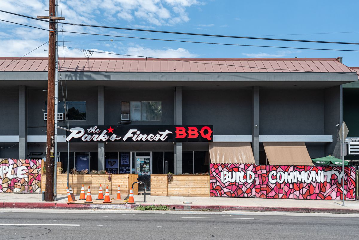 The Park's Finest Barbecue in Historic Filipinotown.