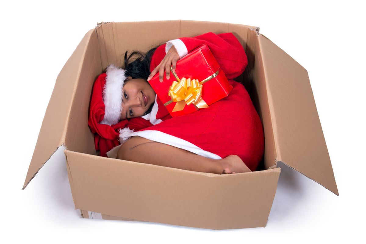 """Don't let your gift displace her bed. Photo via <a href=""""http://www.shutterstock.com/gallery-121453p1.html"""">Shutterstock</a>"""