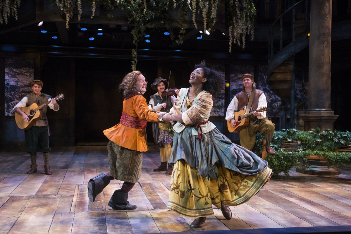 """A scene from the Utah Shakespeare Festival's 2017 production of """"As You Like It."""""""