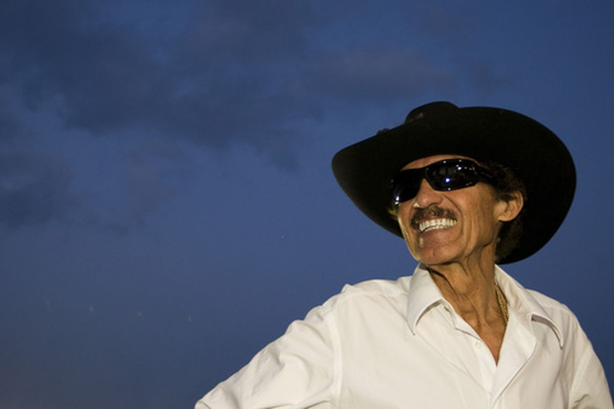 This is obviously Richard Petty, not Bryce.  But I like to think Bryce will have that kind of swagger.