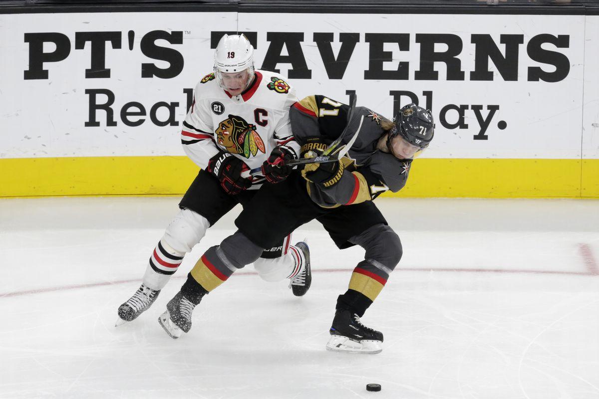 NHL: DEC 06 Blackhawks at Golden Knights