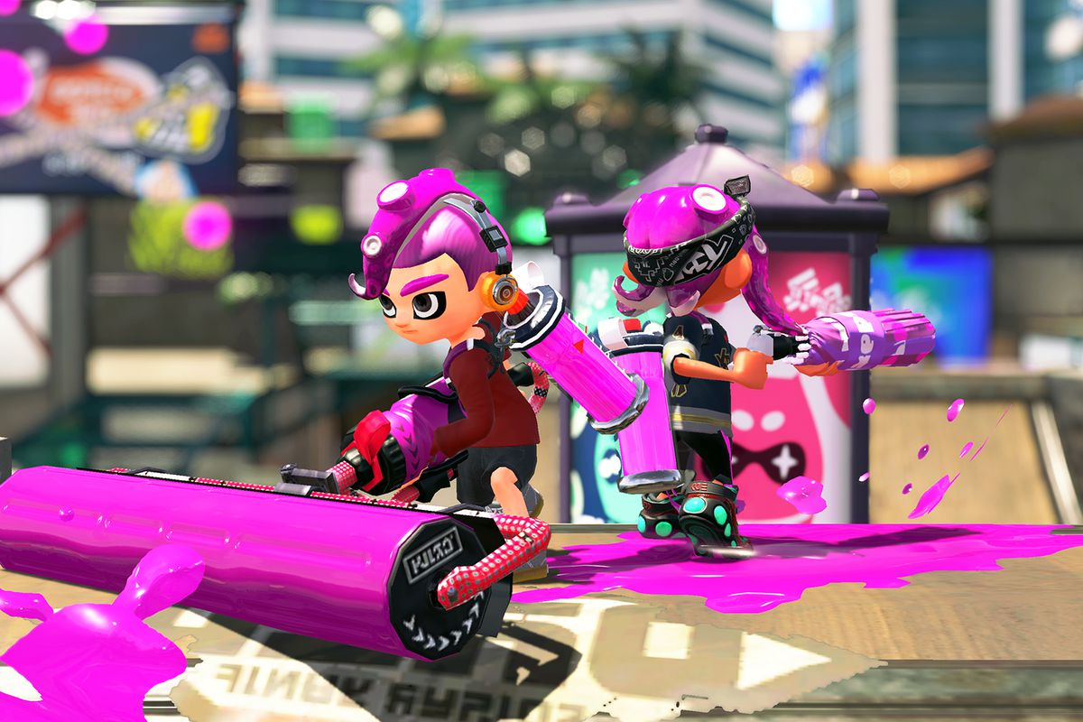 Splatoon 2 multiplayer will go from free to paid with