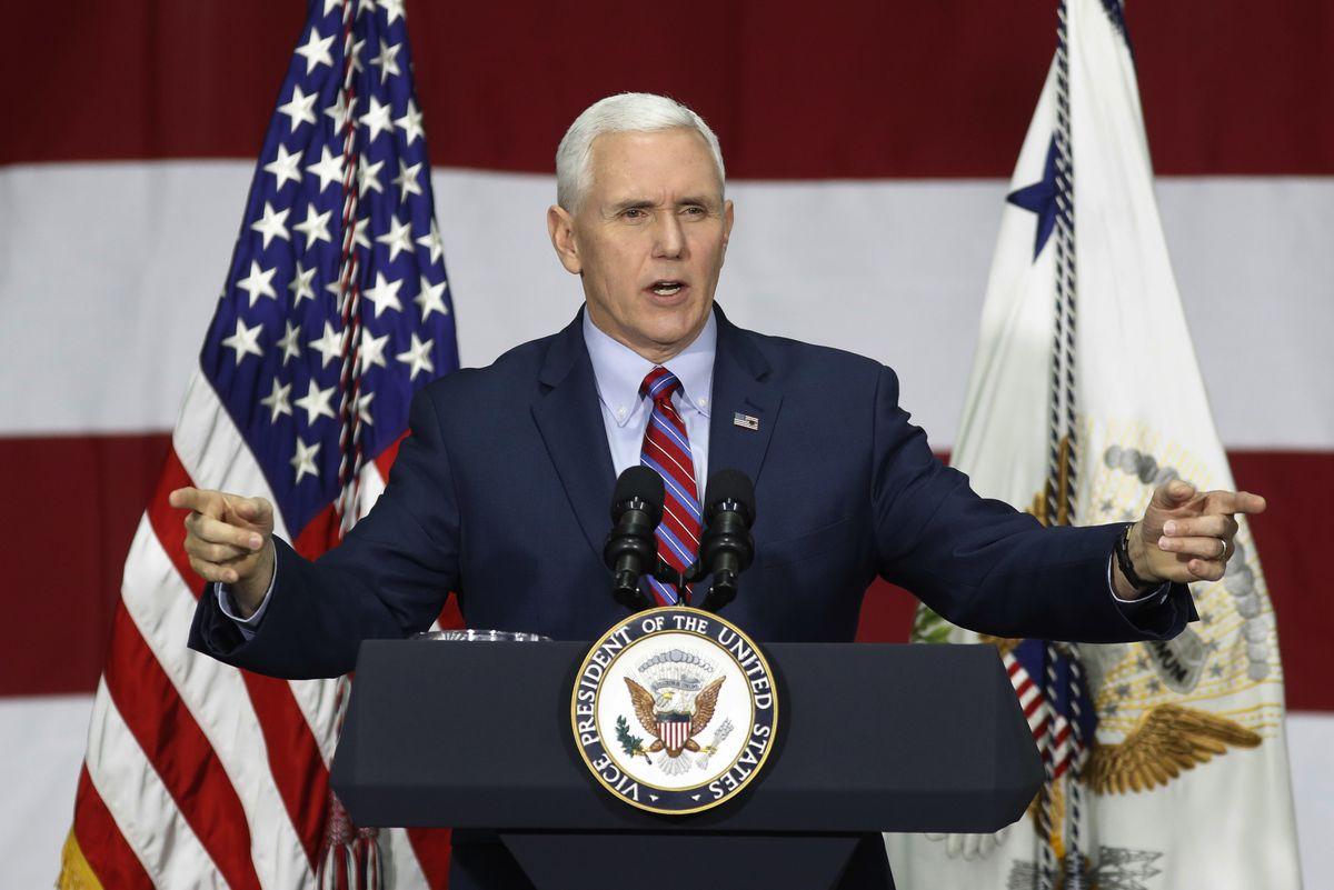 Vice President Mike Pence and a few other White House officials made a new offer to conservative House Republicans late Monday on the GOP's failed health care bill, hoping to resuscitate a measure that crashed spectacularly less than two weeks ago. | Asso