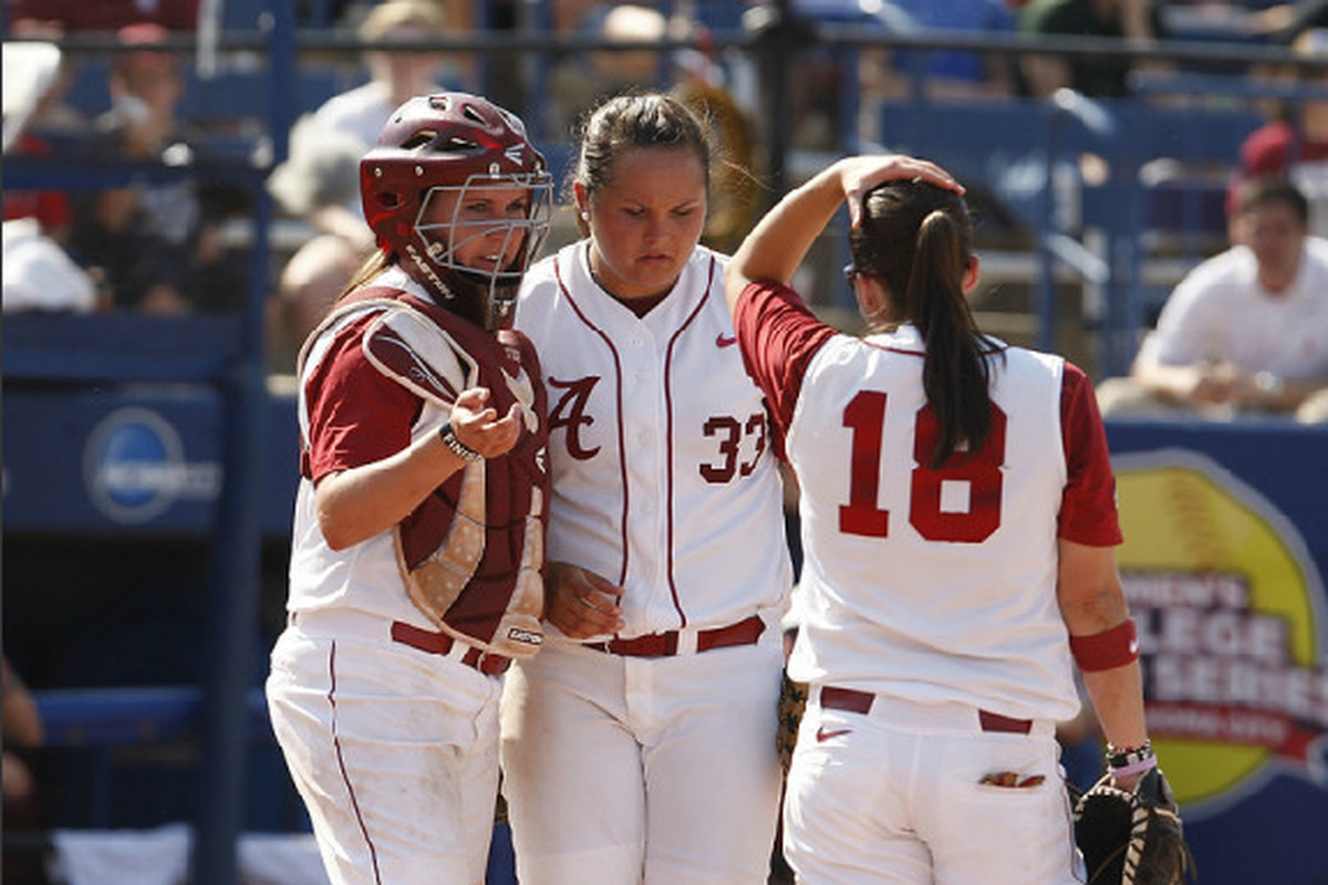 alabama softball world series open thread: game 1 - roll 'bama roll