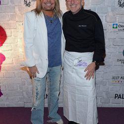Vince Neil and Rick Moonen. Photo: Bryan Steffy/WireImage