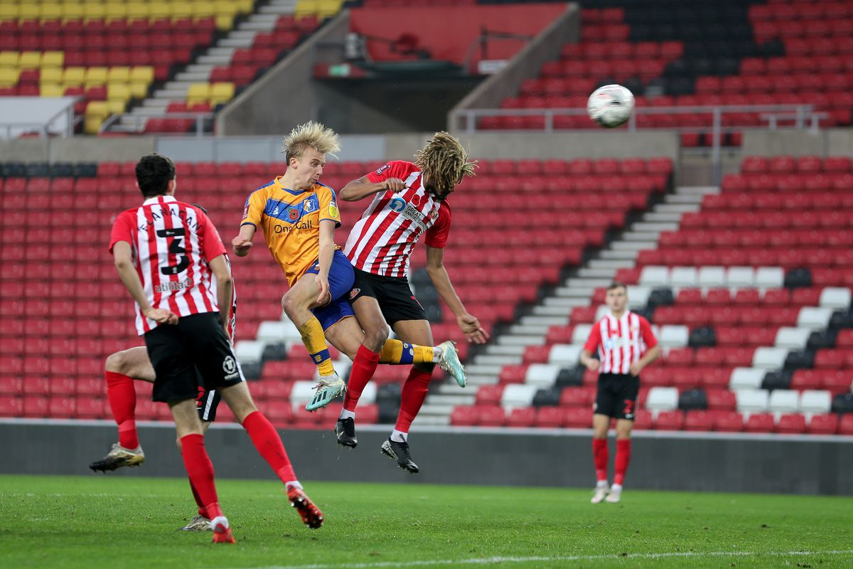 Sunderland v Mansfield Town: Emirates FA Cup First Round