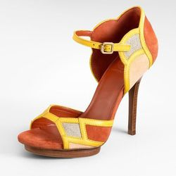 "<a href=""http://www.toryburch.com/ANASTASIA-HIGH-HEEL-SANDAL/51118612,default,pd.html?dwvar_51118612_size=8&dwvar_51118612_color=723&start=127&cgid=sale"">Anastasia sandal</a>, $276 (were $395)"