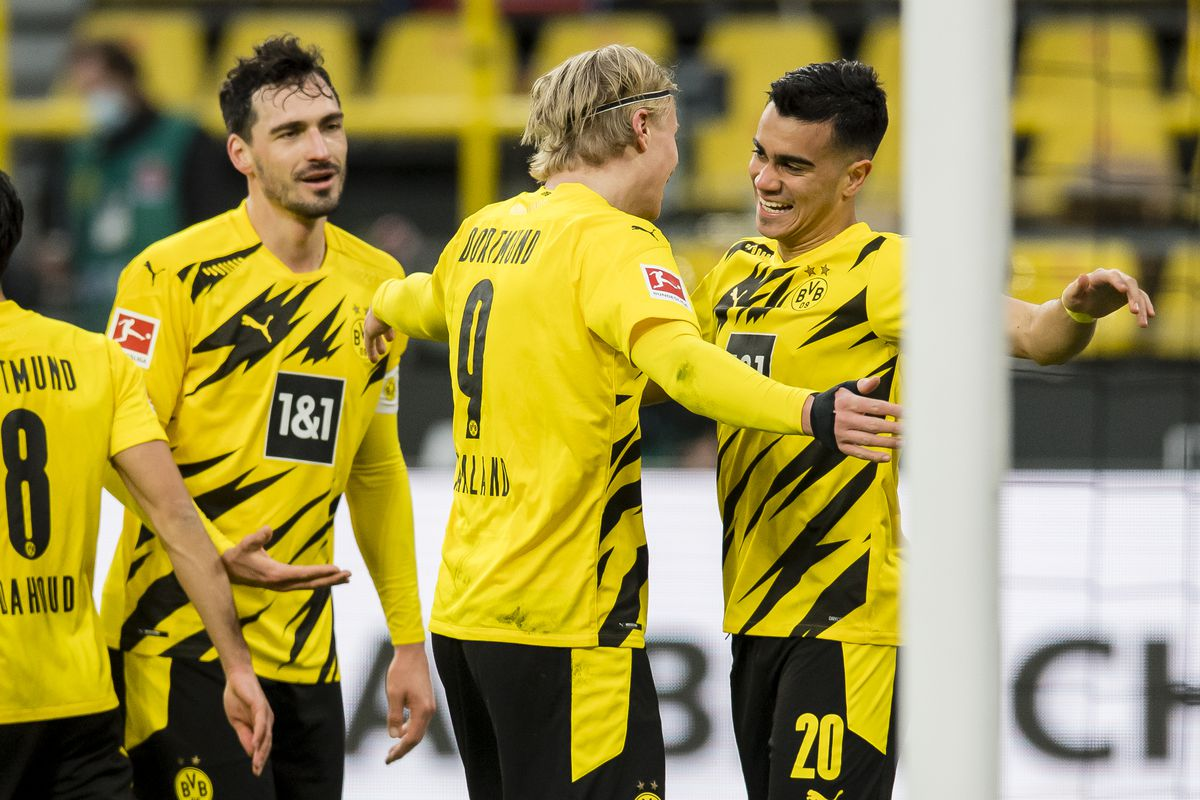 Watch Reinier Jesus First Goal For Borussia Dortmund Managing Madrid