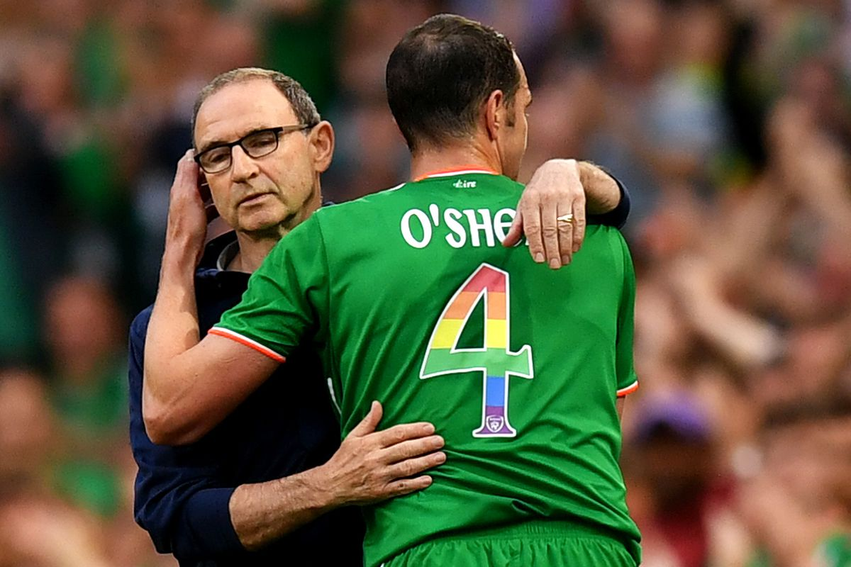 451da89b950fb Ireland and US men's national teams wore rainbow flags on jerseys ...