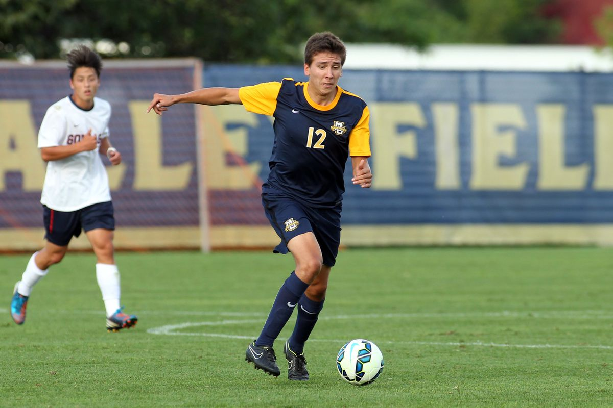 Midfielder Alex McBride carries on the family tradition of being really good at soccer while playing for Marquette.
