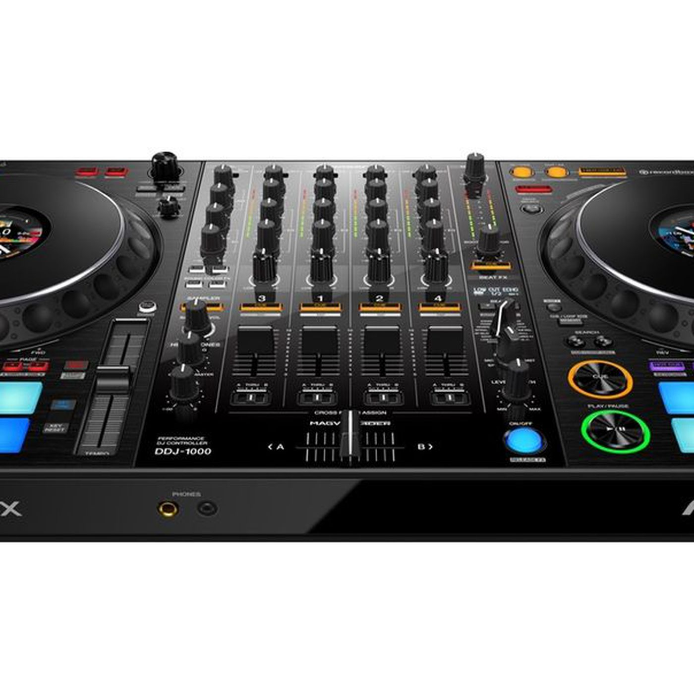 Pioneer's new DJ controller brings a club-style layout to a portable