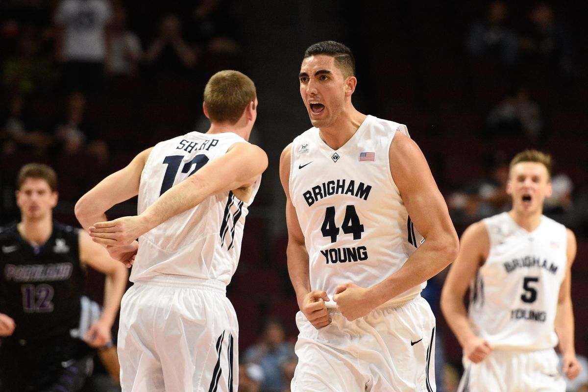 Corbin Kaufusi and the rest of the BYU frontcourt started the season strong.