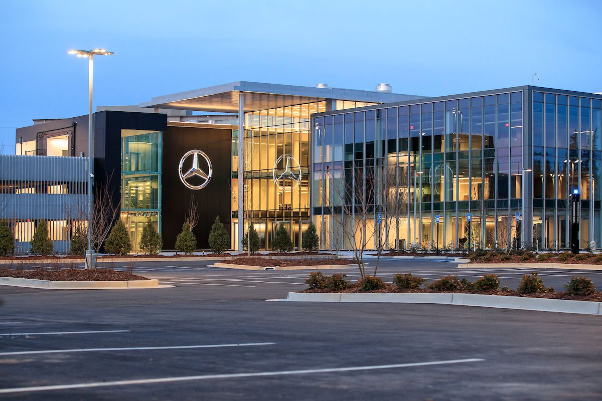 Mercedes-Benz unveils impressive new HQ in Sandy Springs ...