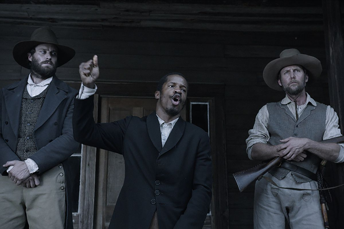 Nate Parker as Nat Turner in The Birth of a Nation