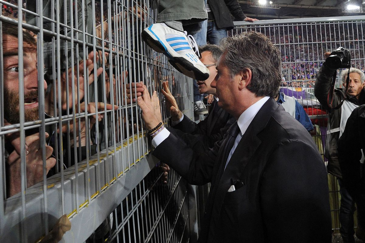Daniele Pradè prepares for the cage match that is transfer window madness.