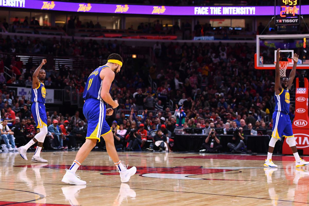 finest selection c5064 b4fab Klay Thompson's epic night in 7 mind-blowing facts ...