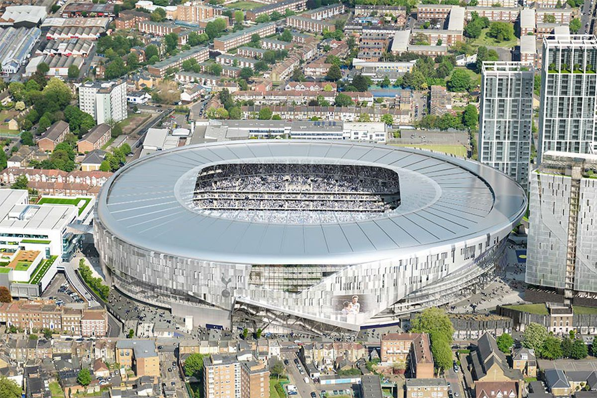 Tottenham announce plans for retractable roof for new stadium