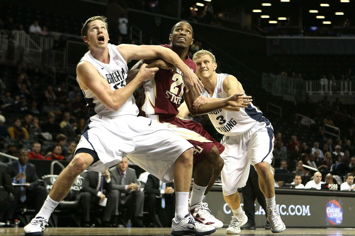 report: byu basketball to play alabama and umass in barclay's center