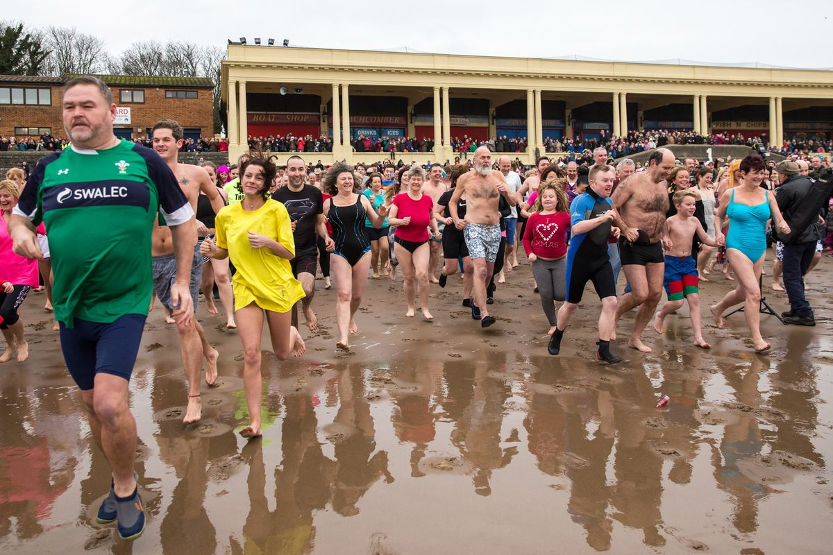 The Barry Island New Year's Day Swim