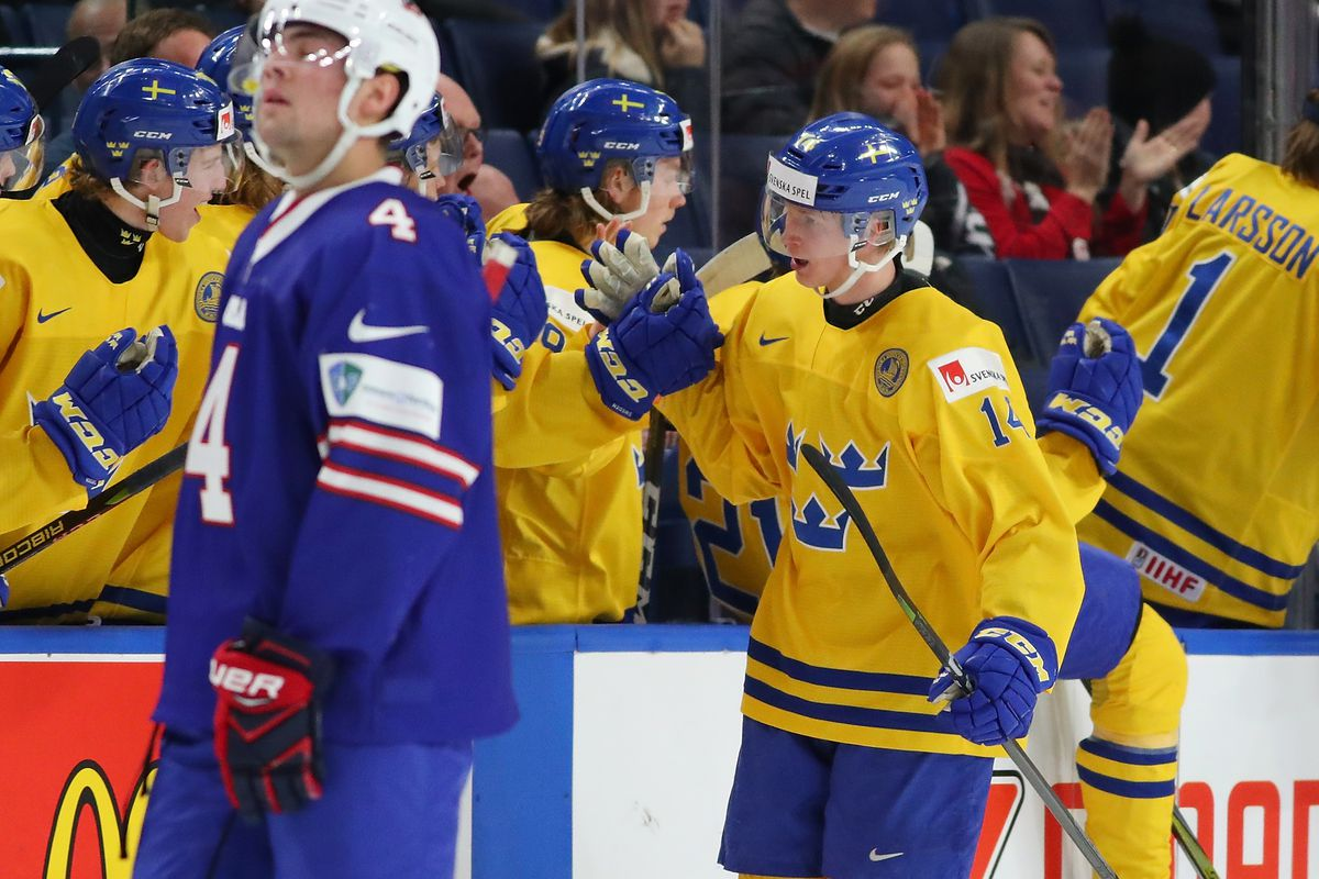 Usa Vs Sweden 2018 World Juniors Final Score And Highlights For