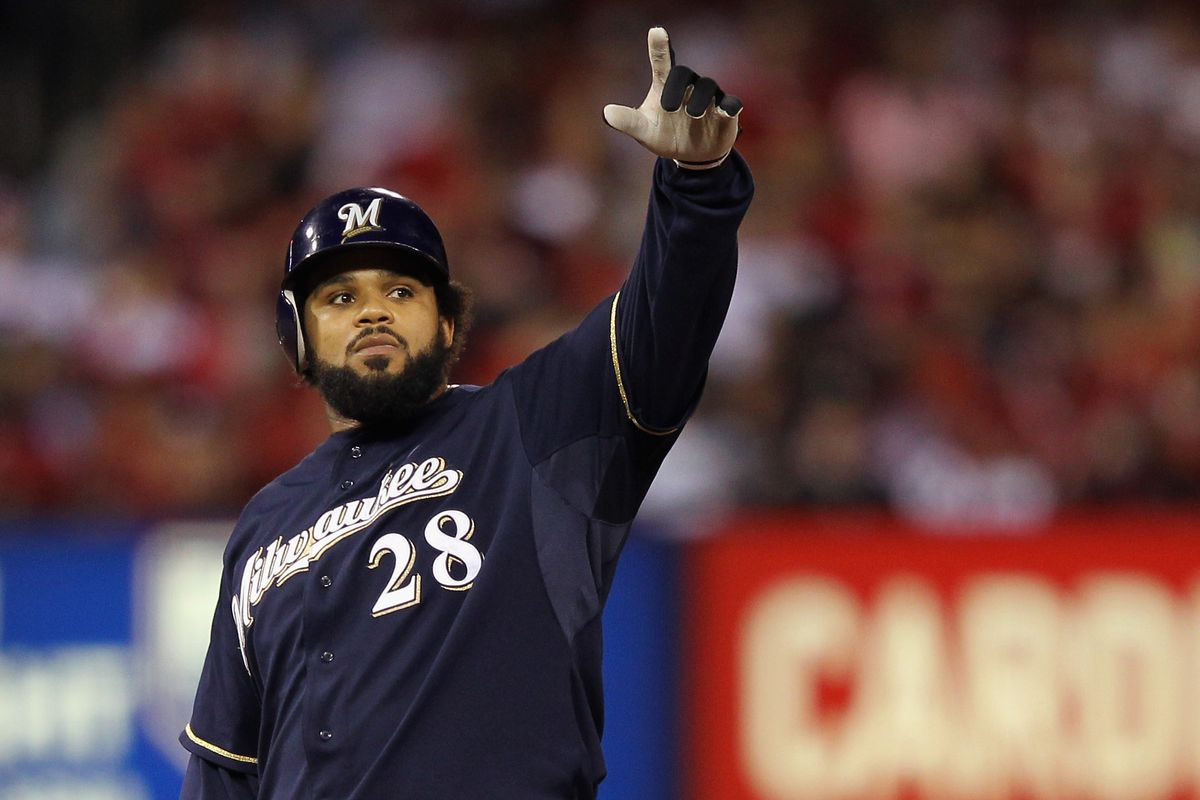 Milwaukee Brewers v St. Louis Cardinals - Game Four