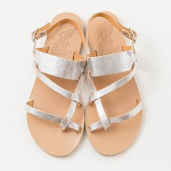 <strong>Scarpa</strong> Ancient Greek Sandals 'Alethea' in silver, $220