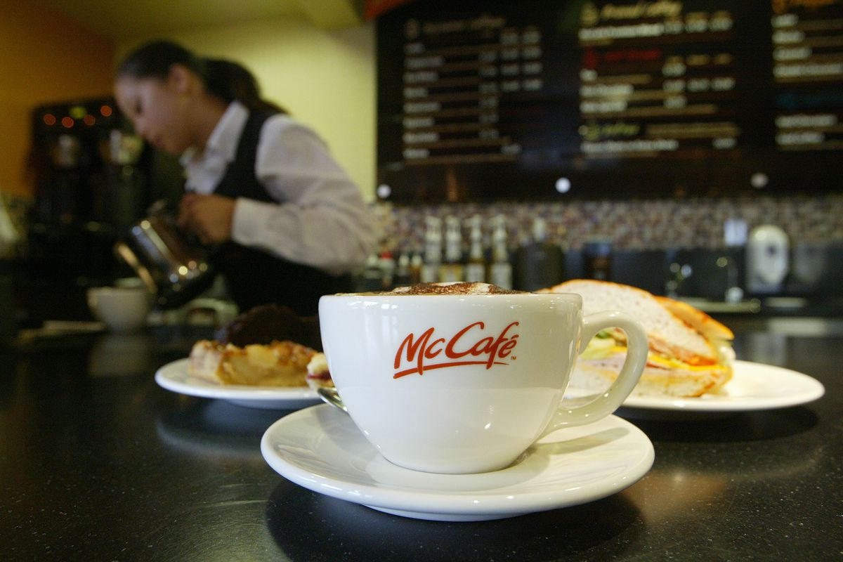 First McCafe Opens In Northern California