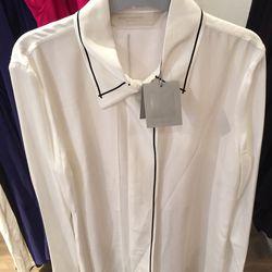 White long sleeve shirt, $273 (was $1,090)