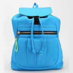 """<strong>Deena & Ozzy</strong> Neoprene Backpack, <a href=""""http://www.urbanoutfitters.com/urban/catalog/productdetail.jsp?id=28897304&"""">$59</a> at Urban Outfitters"""