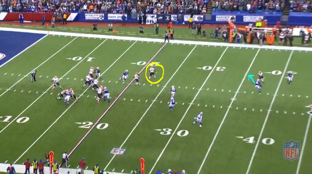 Week 13 Offense (15) - Not Seeing the Safety