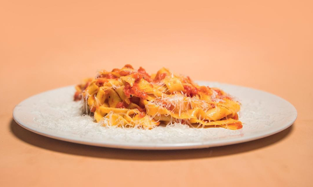 Pasta at Forza Win, one of the best places in London to eat pasta