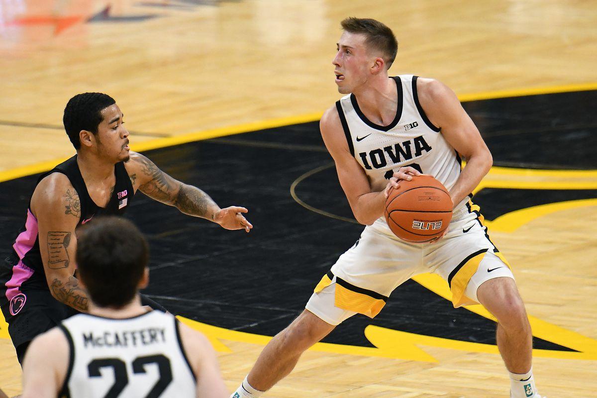 COLLEGE BASKETBALL: FEB 21 Penn State at Iowa