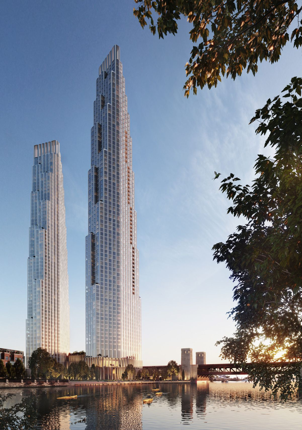 Two Tower Plan For Former Chicago Spire Site Unveiled