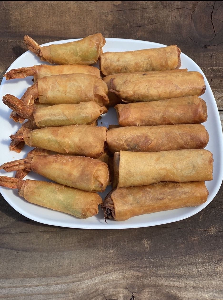 Egg rolls from Tracy's Home Cooking