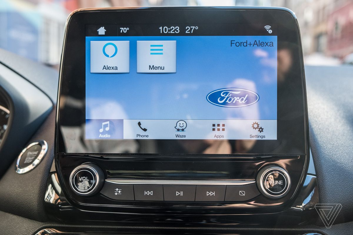 Alexa And Waze Add Depth To Fords Improving Sync Infotainment Ford Remote Starter Start Unlock Or Lock The Car With Original More Limited Integration Users Were Able Do These Things From Amazons Own Devices