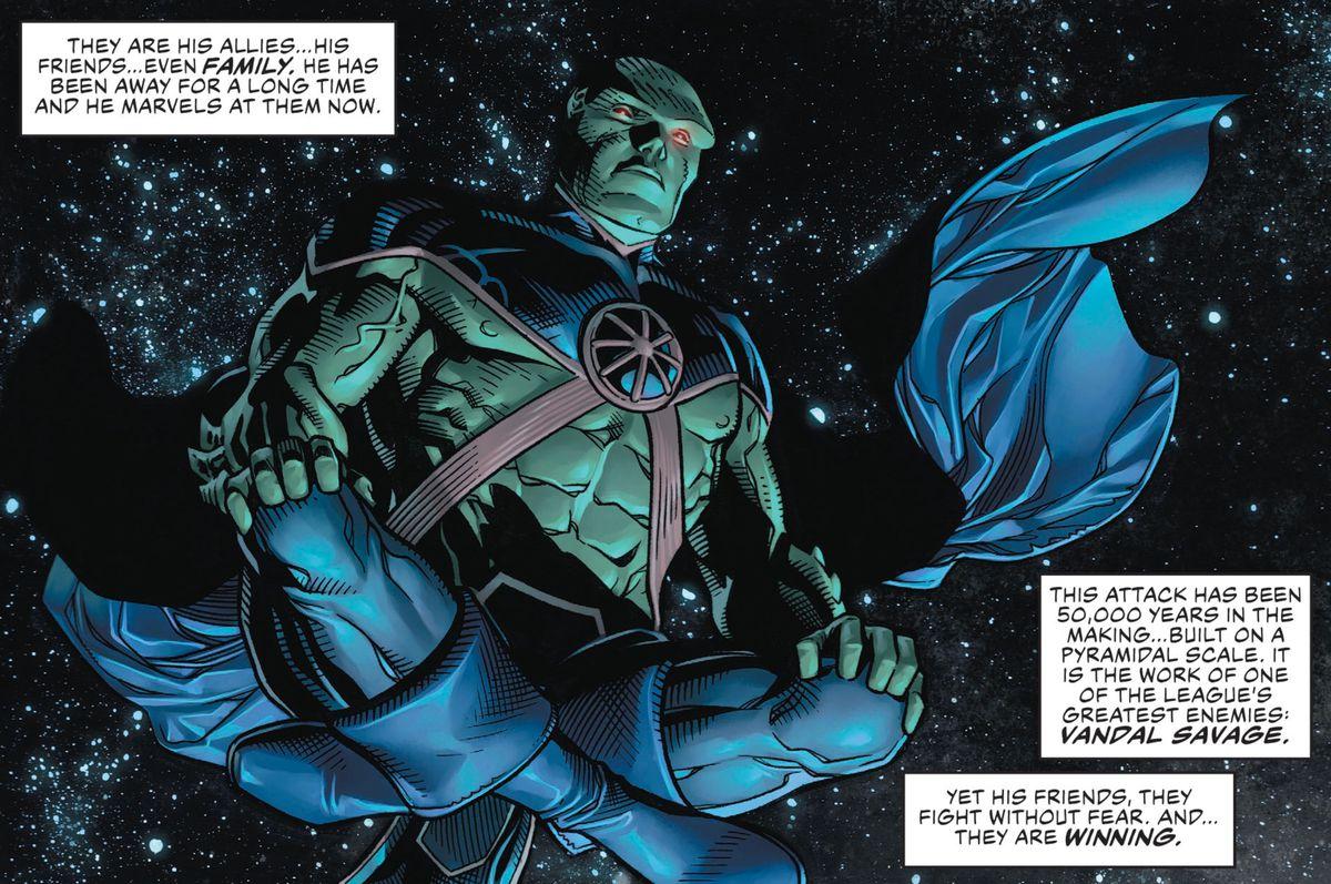 正义联盟#1是纯粹的,集中的漫画书喜悦