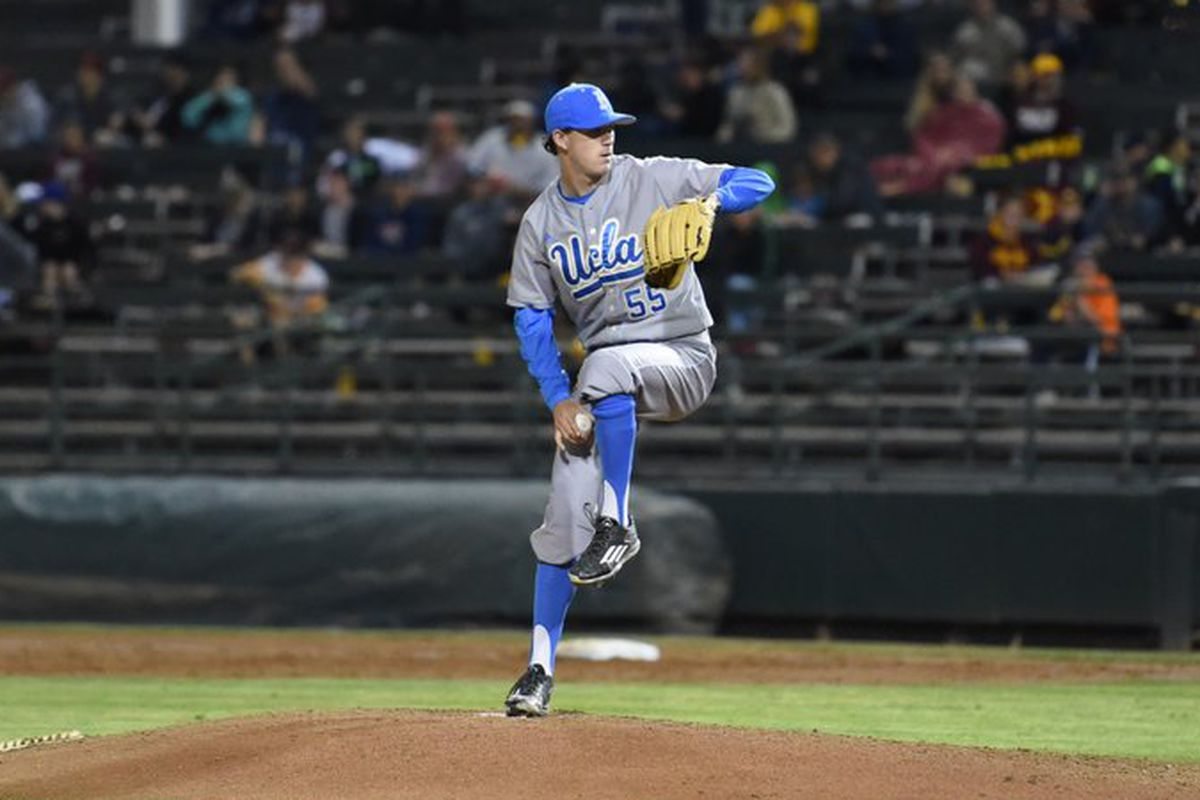 Can UCLA ace, Griffin Canning, start the Bruins off right tonight against their rivals, the Southern Cal Trojans?