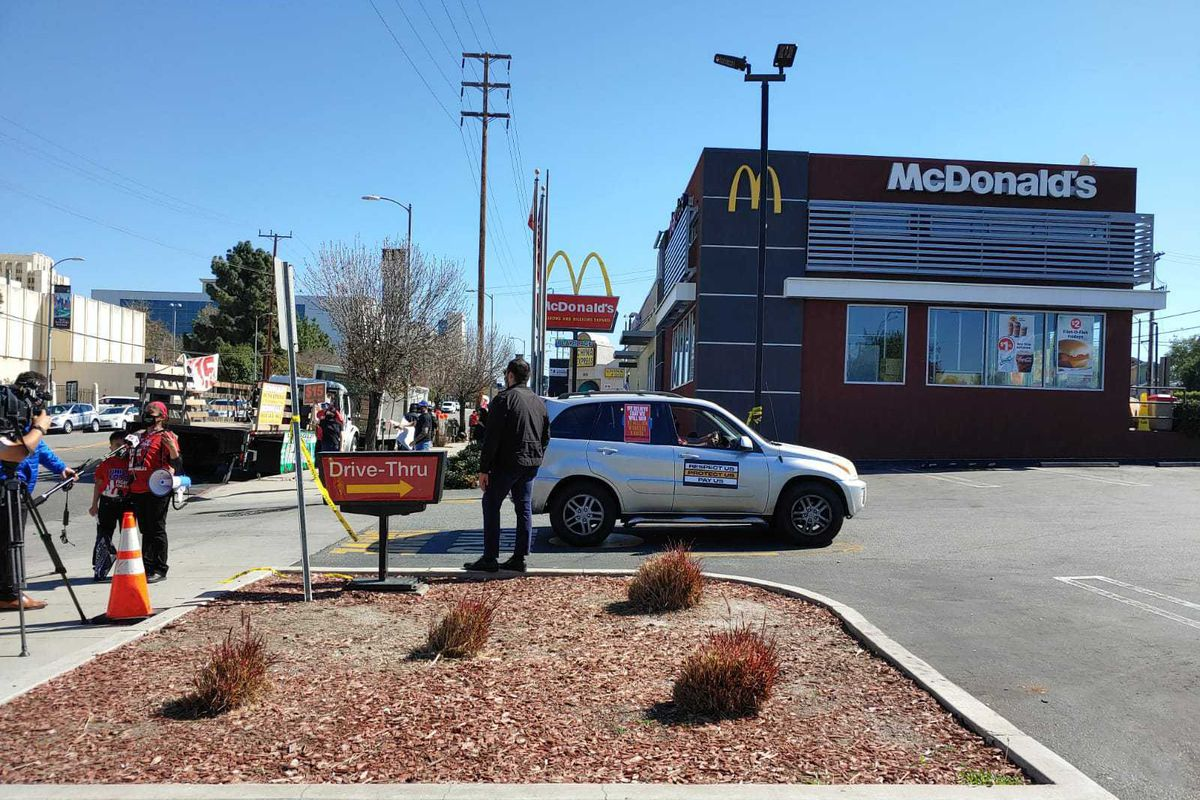 McDonald's at 1716 Marengo Street in Boyle Heights, California