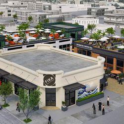Art District Plaza rendering