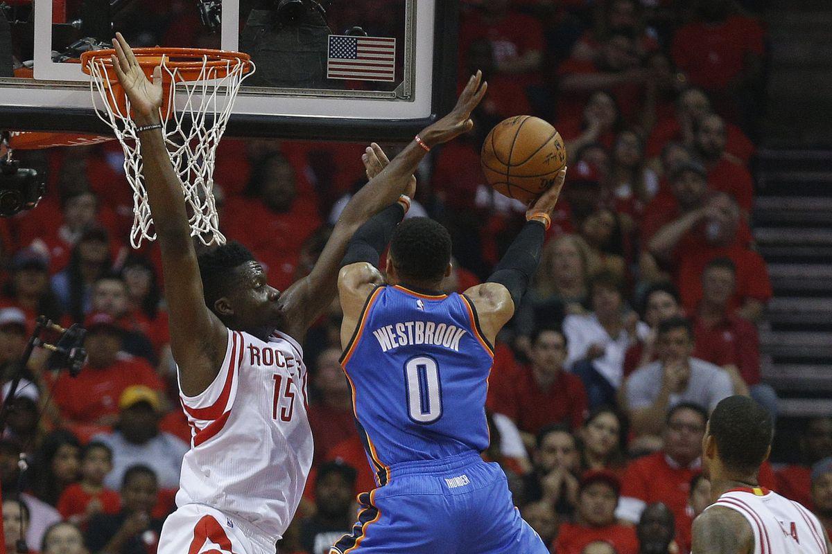 Thunder vs Rockets, game 5 final score: Houston advances ... Rockets Vs Thunder