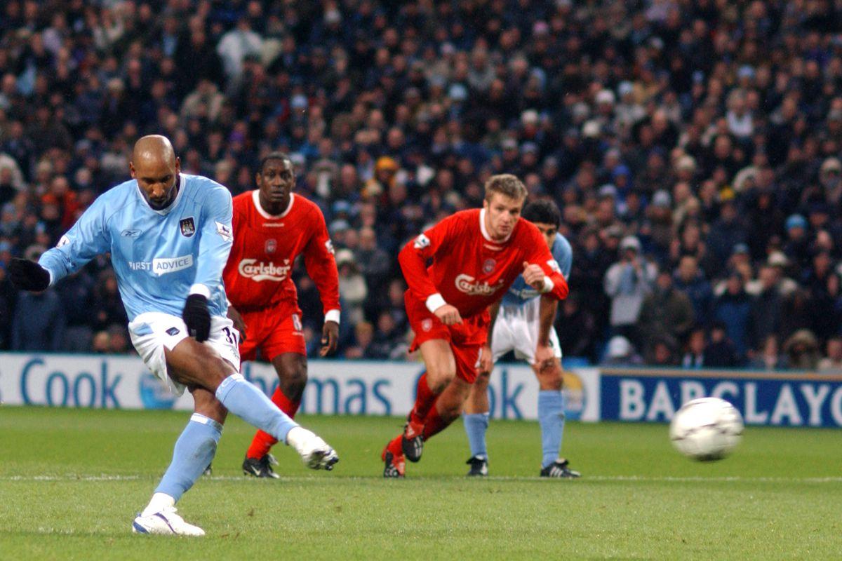 Soccer - FA Barclaycard Premiership - Manchester City v Liverpool